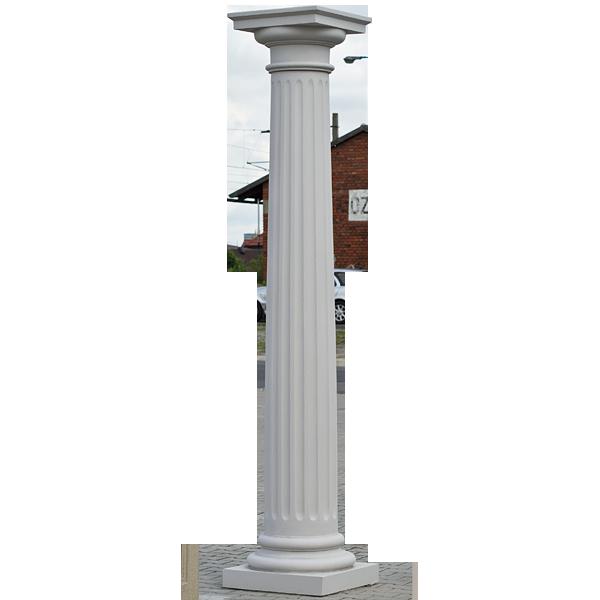 Kolumna nr 10 Wys: od 2,5 do 3,5 m.